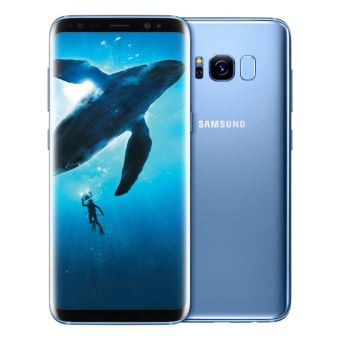 smartphone samsung galaxy s8 plus 64 go bleu oc an smartphone achat prix fnac. Black Bedroom Furniture Sets. Home Design Ideas