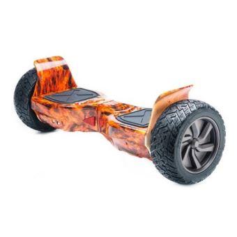 hoverboard 8 5 15km h 4x4 couleur feu skateboard. Black Bedroom Furniture Sets. Home Design Ideas
