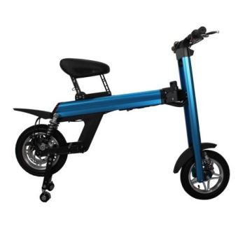 scooter lectrique 70km autonomie pliable bleu glisse urbaine achat prix fnac. Black Bedroom Furniture Sets. Home Design Ideas