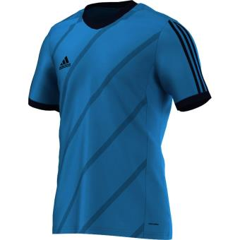 pull adidas bleu cyan