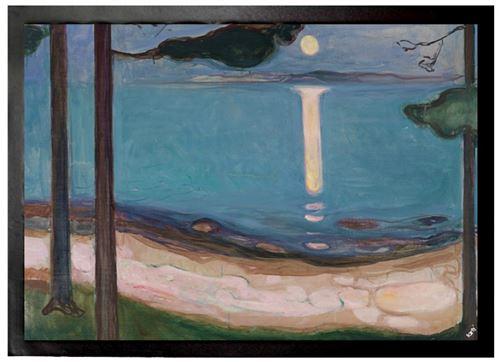 Edvard Munch Paillasson Essuie-Pieds - Clair De Lune, 1895 (50x70 cm)