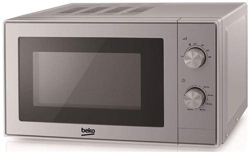 Beko MGC20100S - Four micro-ondes combiné - grill - pose libre - 20 litres - 700 Watt - argent