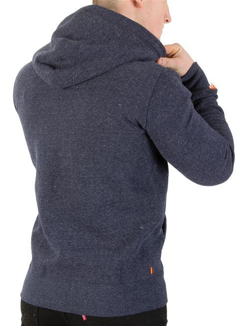 Superdry Homme Veste à capuche Cali Orange Label Orange