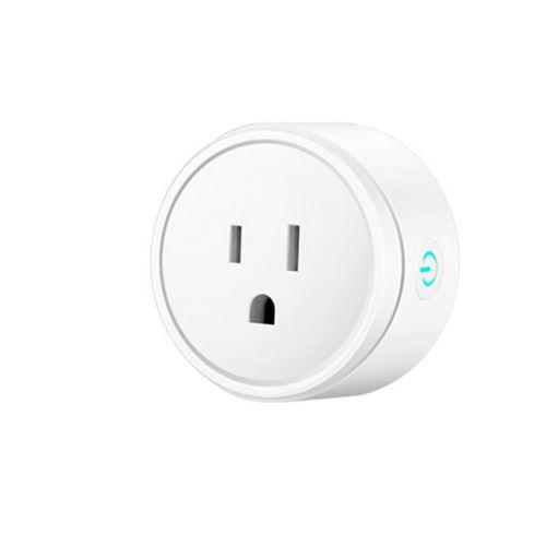 Smart WIFI Prise D'Alimentation Us Plug Commutateur pour Amazon Alexa / Accueil Google App Contrôle Blanc Pl705
