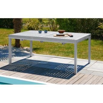 Table de jardin à rallonge automatique - Mobilier de Jardin - Achat ...
