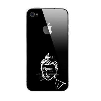 coque iphone 4 trabsparent blanc