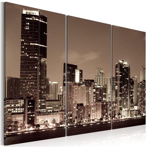Artgeist - Tableau - Soir à Miami 120x80