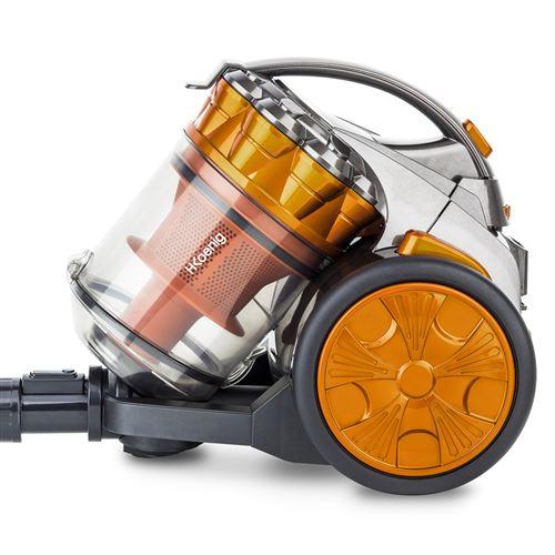 Aspirateur sans sac H.Koenig STC68 Compact triple A 700 W Orange