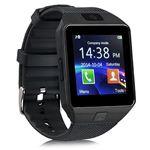 Ceka Tech® horloge aangesloten Bluetooth Smart Watch met Camera Touch Screen Camera Touch Screen Sim / Tf Card Support stappenteller Slaapmeter Compatibele Samsung Huawei Sony Android Ios Woman Man Child