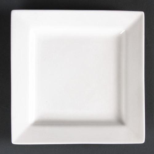 Assiettes carrées 295mm lumina