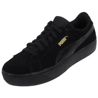 Taille41 Ou Chaussures Vikky L Noir Réf Simili Cuir 55548 Basses Puma Platform Black f7b6gyvY