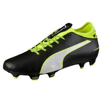 40ddff56179 -35€01 sur Puma - Chaussures Puma evoTOUCH 3 FG - noir blanc jaune fluo -  Chaussures et chaussons de sport - Achat   prix