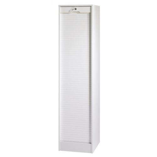 Classeur à Rideau Hauteur 172 cm - Coloris - Blanc