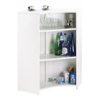 Meuble Comptoir Meuble Bar Blanc Tour Eiffel Achat Prix Fnac