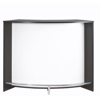 Meuble Bar Comptoir De Cuisine Accueil Noir Blanc