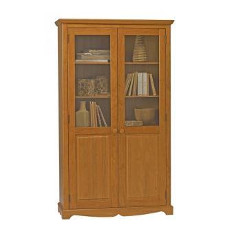 Bibliothèque Pin Miel de Style Anglais - Achat & prix | fnac