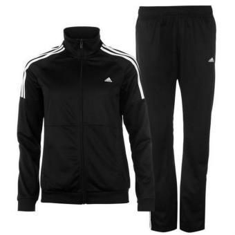 Jogging Noir Femme Adidas 3 Bandes - Survêtements et ensembles de sport -  Achat   prix  c10b8a1d91b