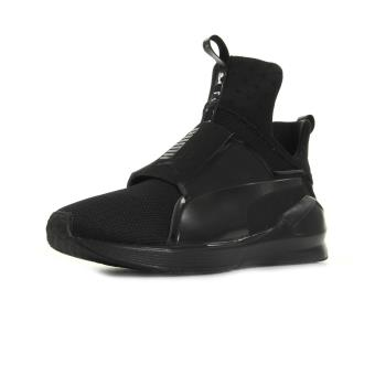 Puma Fierce Core Baskets Noir Femme Noir Chaussures