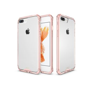 apple iphone 8 plus 5 5 pouces coque bumper ultimkaz contour rose smartphone iphone 8 2017. Black Bedroom Furniture Sets. Home Design Ideas