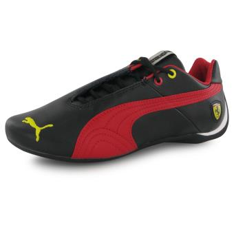 online store ca70d 8f912 Puma Future Cat Leather Ferrari noir, baskets mode homme - Chaussures et  chaussons de sport - Achat   prix   fnac