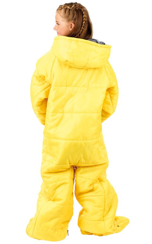 pour enfant Sac de couchage avec bras et jambes 160 cm