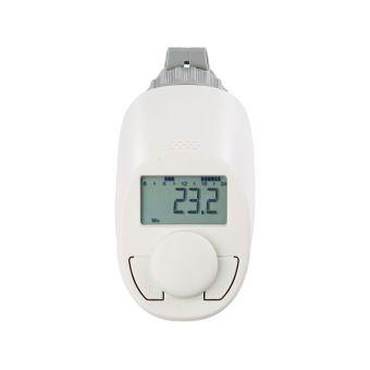 thermostat programmable pour radiateur avec fonction boost. Black Bedroom Furniture Sets. Home Design Ideas