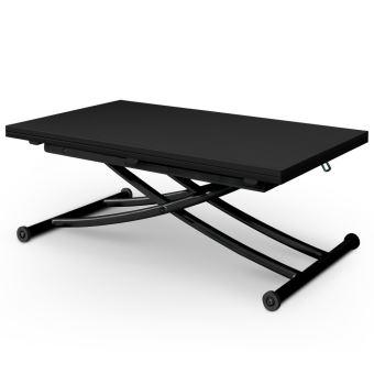Carbone Carrera Noir Relevable Table Basse iPkXZu