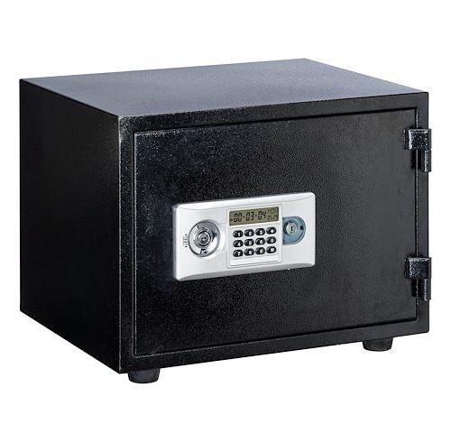 Coffre-fort ignifuge serrure mixte électronique et clé H 38 cm