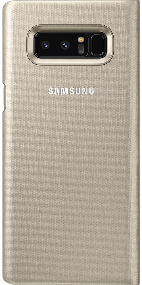 coque note 8 samsung led view