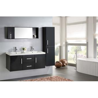 meuble salle de bain double vasque luxe beau meuble double vasque 120 cm malibu installations. Black Bedroom Furniture Sets. Home Design Ideas