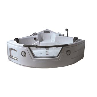 Baignoire Massante Angle 150 X 150 Cm Balneo Bain Tourbillon Modele