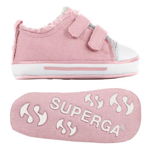 Superga sneakers 4090 covbi pour bébé garçon et bébé fille style classique couleur unie