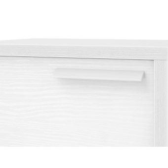 Bois Structuré White Blanc Achatamp; PrixFnac 1 Chevet Porte 45cm CtdshQrxBo