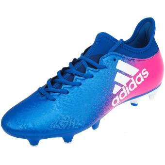 Chaussures football vissées Adidas X 16.3 sg hy Bleu
