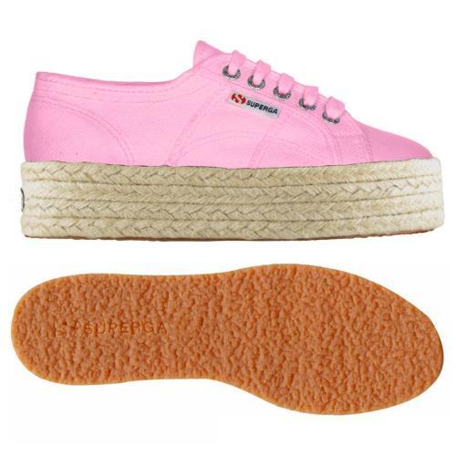 SUPERGA Chaussures 2790-COTROPEW unie pour Adulte, chaussures modèle plateforme, couleur unie 2790-COTROPEW 286a24