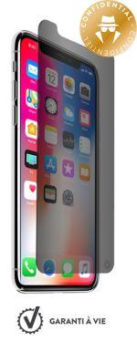 Film iPhone X / XS Protection Verre trempé anti-espion garanti à vie ForceGlass