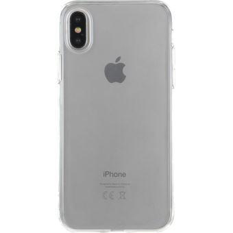 Coque souple BigBen Transparente pour iPhone X