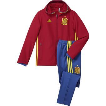 Adidas Espagne 2016 rouge foncé/jaune brillant/