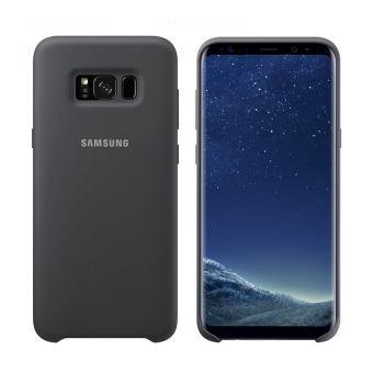 5% sur Coque Samsung en Silicone Noir pour Galaxy S8+ - Etui pour ... 4126249ea545