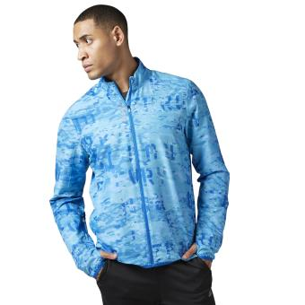 Taille Reebok Veste Running Homme Essentials Bleu Woven M Adulte Roi 34LARcj5q