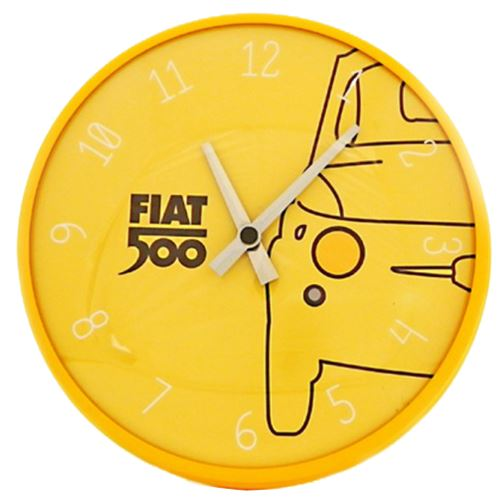 Pendule ronde Fiat 500