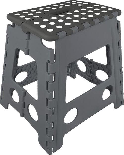 ProPlus marches pliables noir / gris 29 x 21,5 x 39,5 cm