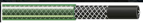 Ribiland - Tuyau TUBIDRO guipe vert translucide 50m diam 19mm - PRTG50V19