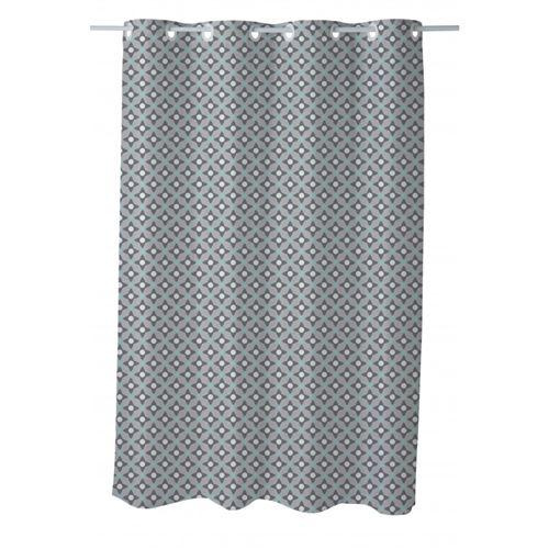 Rideau de douche imprimé 180x200cm Bianca