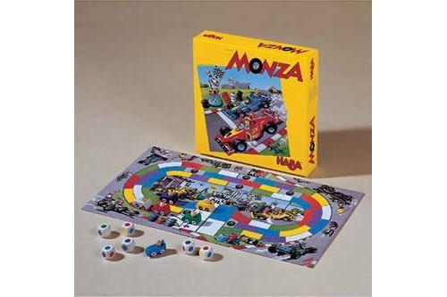 HABA Monza - Un jeu de société pour débutants en course automobile encourage la réflexion - 5 ans et plus (Made in Germany)