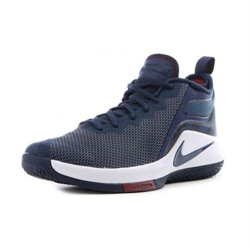 Chaussure de Basketball Nike Zoom Lebron Witness 2 Bleu Navy