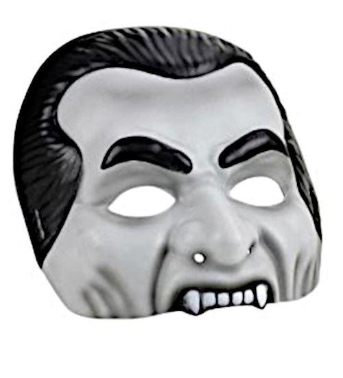Amscan masque Dracula 20,8 cm gris/noir taille unique