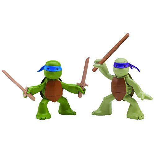 Nickelodeon Teenage Mutant Ninja Turtles, Ninjas in Training, Donatello and Leonardo Action Figures