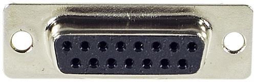 Connecteur DB15 femelle a souder (sachet de 10)