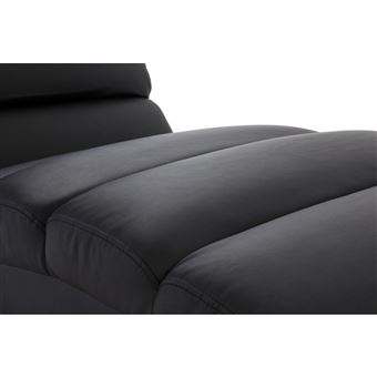 Poltrona Chaise Longue Nero Taylor Design WEH9YD2I
